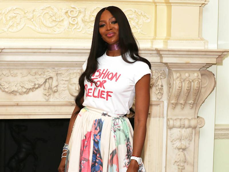 Designers asked Naomi Campbell to fall after infamous runway slip
