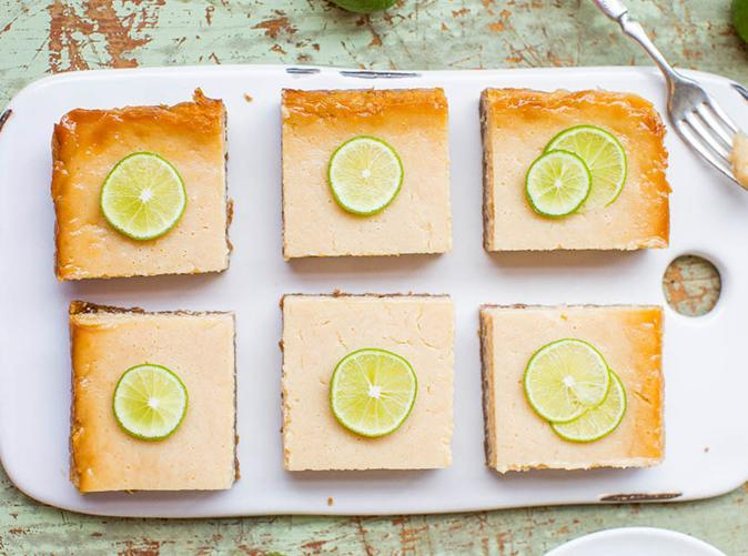 """<p>One bite and boom, you're on a sunny Florida beach.</p> <p><a class=""""link rapid-noclick-resp"""" href=""""https://www.averiecooks.com/key-lime-pie-bars/"""" rel=""""nofollow noopener"""" target=""""_blank"""" data-ylk=""""slk:Get the recipe"""">Get the recipe</a></p>"""
