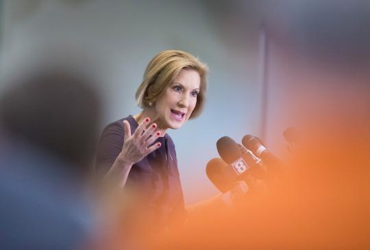 <p><i><b>Better known as:</b> Republican presidential candidate Carly Fiorina. (Photo: Scott Olson/Getty Images)</i></p>