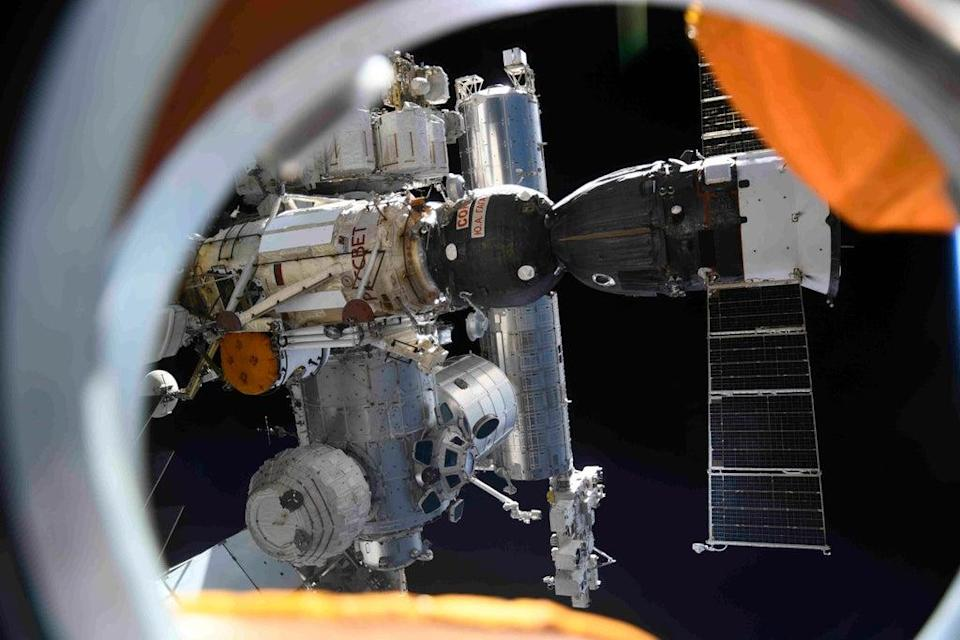 Russia Space Station (Roscosmos Space Agency Press Service)