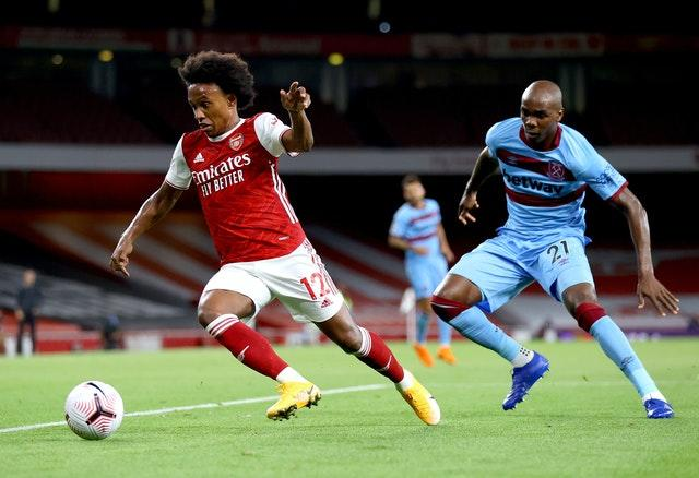 Willian could feature for Arsenal
