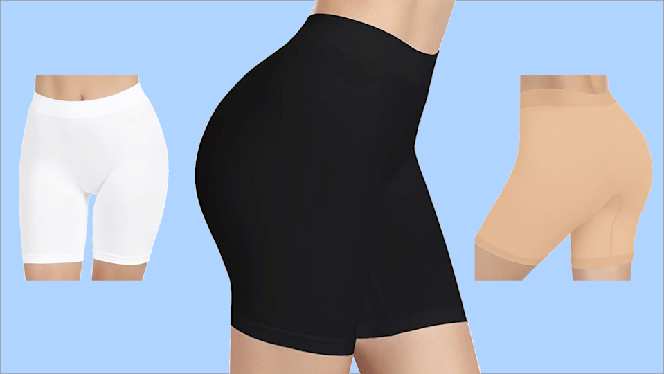 Your summer savior: These stretchy, breathable $14 shorts keep you smooth, supported and free of chafing. (Photo: Amazon)