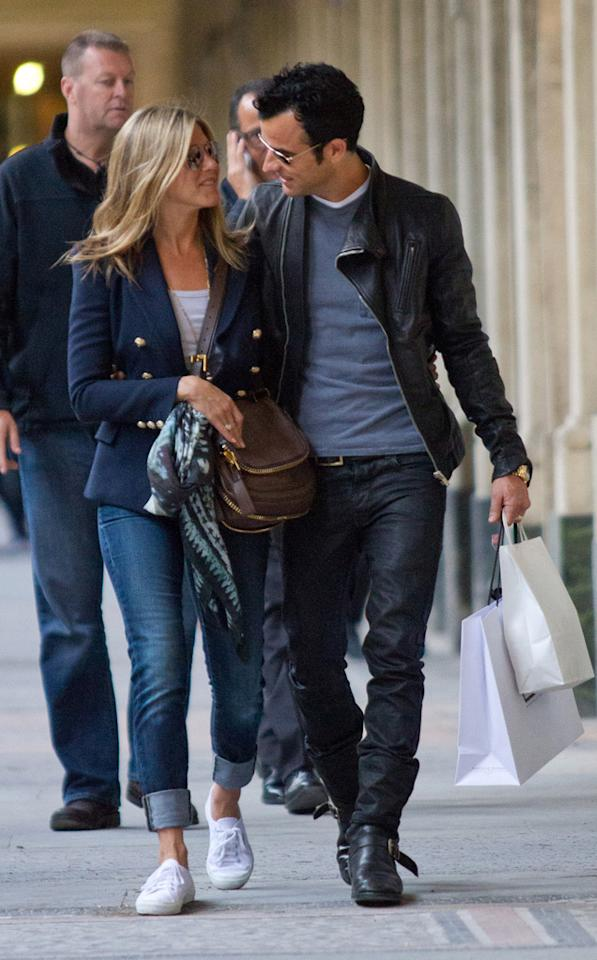 """<p class=""""MsoNormal"""">One of the biggest ways Aniston's changed during her relationship with Theroux is her willingness to show the love ... in public. The star was extremely private about her love life after the very public flame out of her five-year marriage to Brad Pitt in 2005. The public saw her photographed with post-Pitt beaus like Vince Vaughn and John Mayer much less often — and who could blame her for wanting to keep her personal life out of the spotlight? But when Aniston and Theroux got together, she was quick to hold hands and even canoodle with her new actor beau, whether they were on the streets or on the red carpet. Do you think this union will last? (6/11/2012) </p>"""