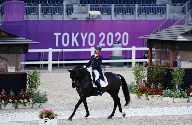 Carl Hester in action