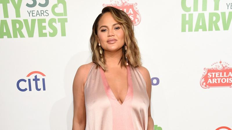 Chrissy Teigen Shares Precious New Pic of Baby Son Miles on His Original Due Date