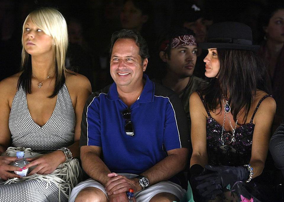 <p>Who would have ever imagined a world where Jon Lovitz and model Janice Dickinson would be sitting side by side. <i>(Carlo Allegri/Getty Images)</i></p>