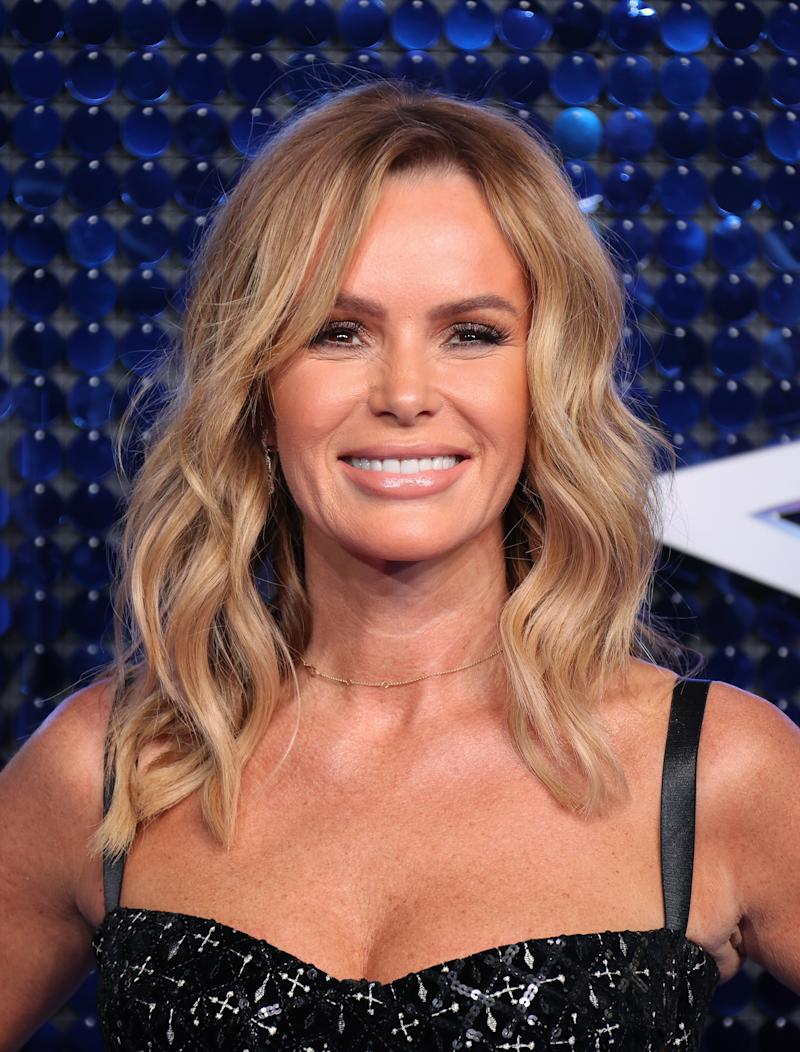 LONDON, ENGLAND - MARCH 05: Amanda Holden attends The Global Awards 2020 at Eventim Apollo, Hammersmith on March 05, 2020 in London, England. (Photo by Mike Marsland/WireImage)