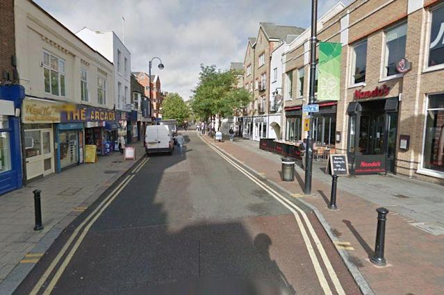 Moments later in north London, a second boy was stabbed in the chest and died from his injuries in hospital (GOOGLE MAPS)