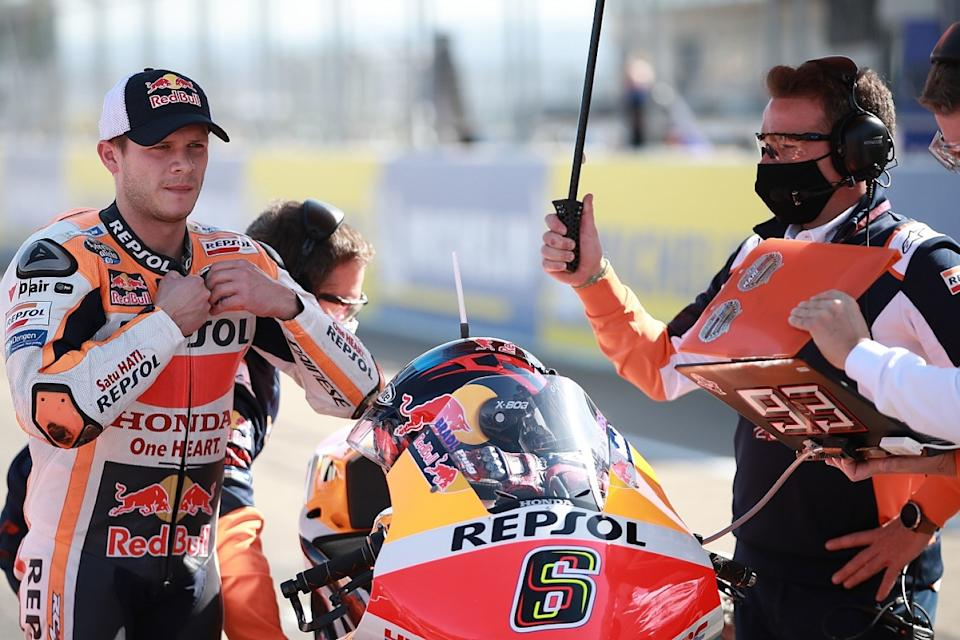 Bradl claims he'll complete season in place of Marquez