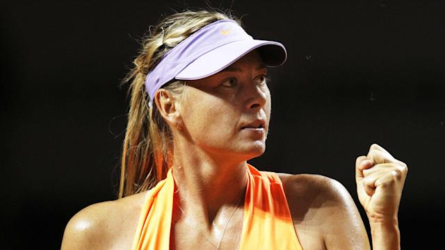 Anett Kontaveit could not halt Maria Sharapova as the WTA's divisive comeback queen reached the Stuttgart Open semi-finals.