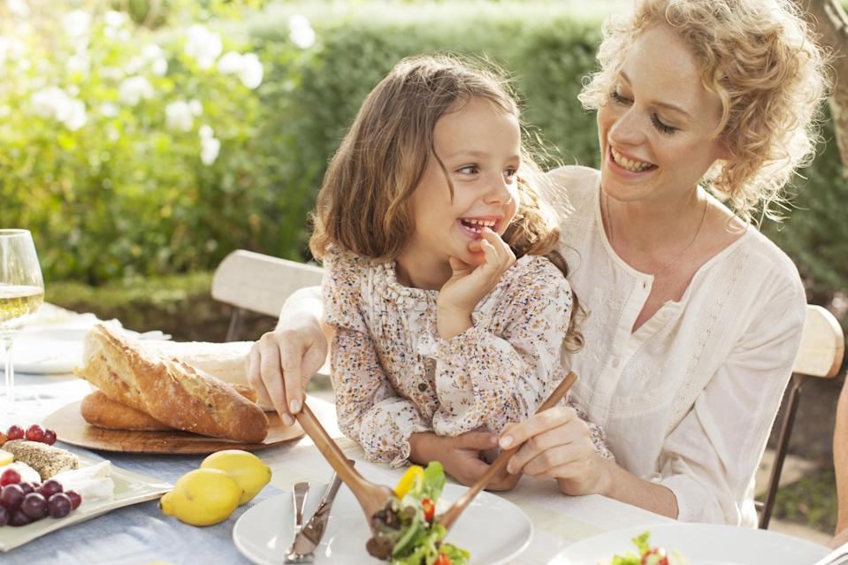 """<p>Forget scurrying away vegetables in their pasta sauce, this is the year that children finally embrace healthy eating. Well, we can but hope. But according to Chloe Joyner, Nutritionist from <a rel=""""nofollow noopener"""" href=""""https://kiddyum.co.uk"""" target=""""_blank"""" data-ylk=""""slk:Kiddyum"""" class=""""link rapid-noclick-resp"""">Kiddyum</a>, 2017 will see some major changes in food and nutrition for little ones. For a start we'll be looking beyond hidden veg. """"In the recent past, much of the advice parents have been given has focused on pureeing and hiding vegetables in dishes in order to encourage children to eat them,"""" explains Chloe. """"However recent research has showed that there are benefits to offering children whole pieces of vegetables - a stick of carrot or a floret of broccoli – as it enables the children to identify the flavour, texture and colours of the vegetables."""" Chloe says that by only offering hidden vegetables, children are more likely to become picky about eating them in the long term because they won't be used to seeing or eating them in their real form. """"So by all means do hide some veg, but next year try to offer the vegetables in their whole form - or in pieces - as well, even if alongside other hidden veg."""" Experts also believe next year will be the year we see a rebranding of treats. """"I think in 2017 and beyond we are going to see more parents moving away from using the word 'treat' for certain foods,"""" explains Chloe. """"Research has shown that branding something as a 'treat' or rewarding children with food can make those foods more desirable. I think we are going to see more foods being talked about as 'every day' foods and others as 'not every day' as a way to avoid making less healthy foods seem better than everyday foods and avoid using unhealthy foods as rewards."""" And we're likely to see junk food advertising outlawed too. """"2017 will be the year when junk food advertising at children will be banned and I think this could start to have an impact on w"""