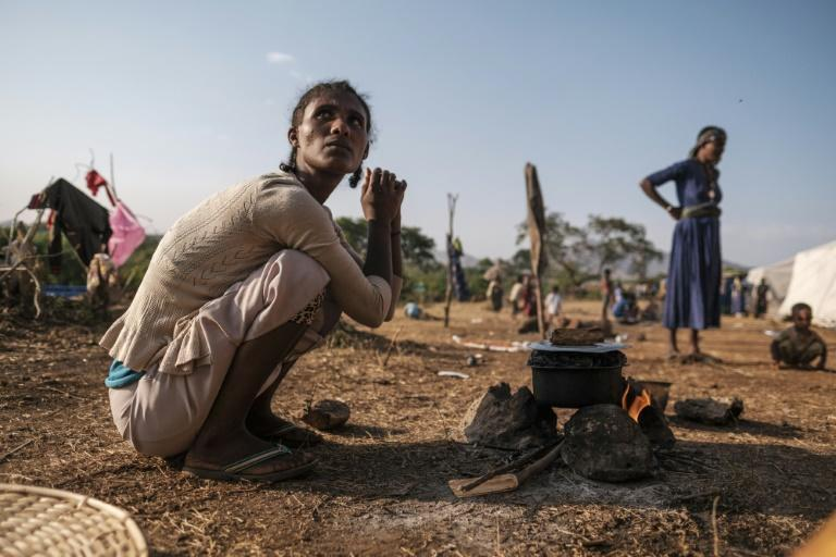 Ethiopia is just one of the countries where a conflict forced thousands to flee their homes last year
