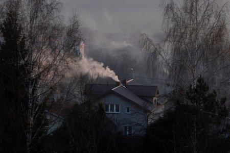 FILE PHOTO: Smoke rising from a family house in Bedzin, near Katowice, Poland, December 5, 2018. REUTERS/Kacper Pempel