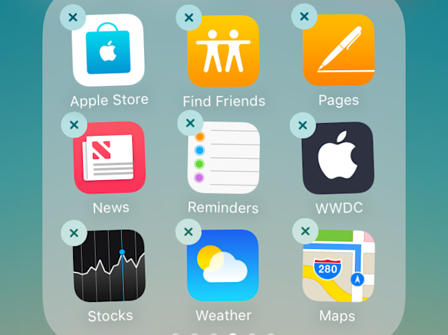 You can finally delete Apple's pre-installed apps from your