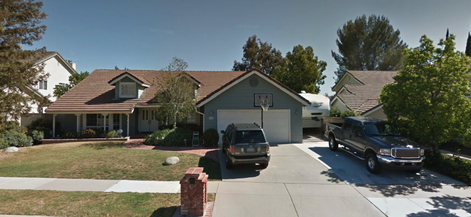 """The exterior of the home used in 1982's """"Poltergeist.""""(Photo courtesy of Trulia)"""