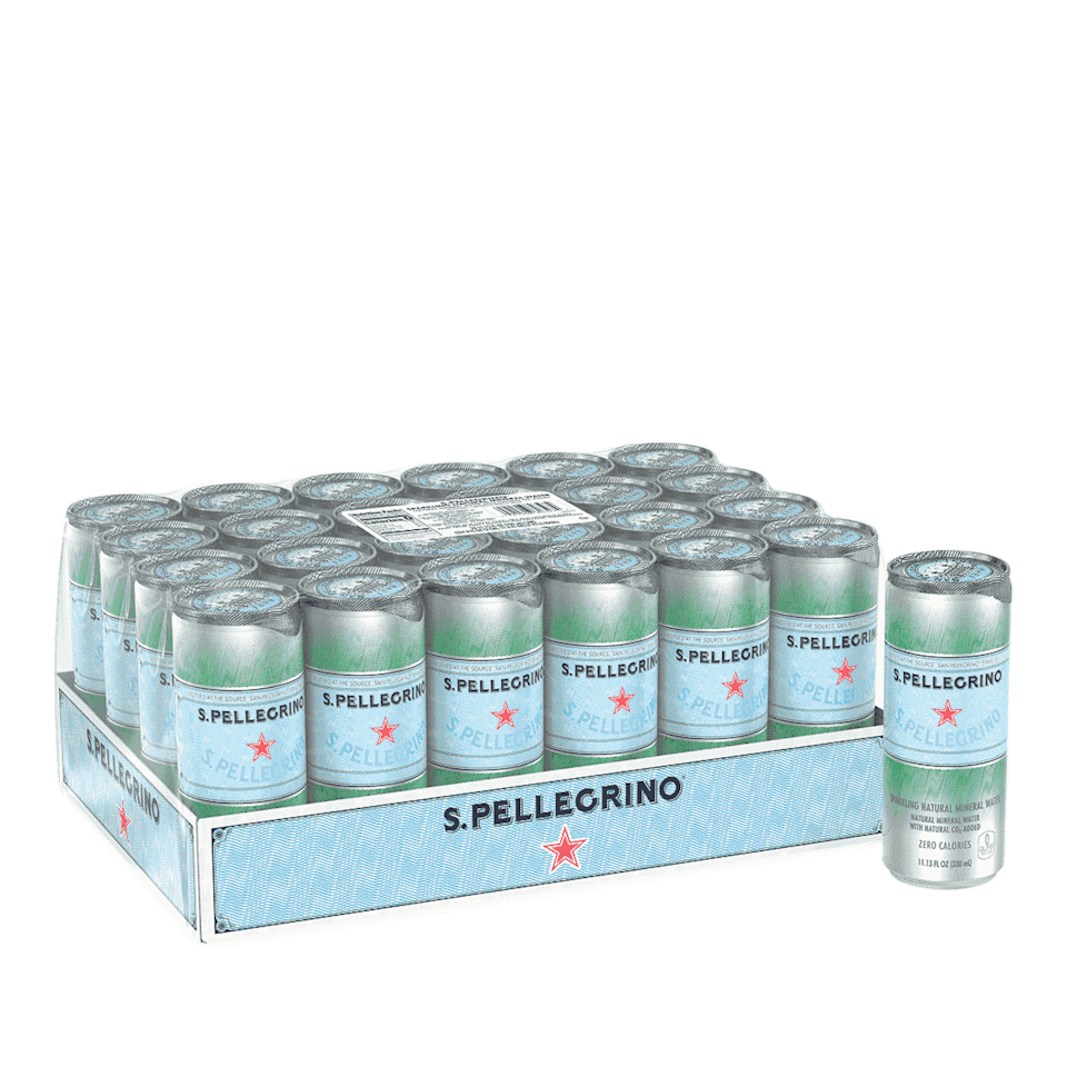 """<p><strong>Ready Refresh</strong></p><p>readyrefresh.com</p><p><strong>$19.99</strong></p><p><a href=""""https://www.readyrefresh.com/en/products/s-pellegrino/s-pellegrino-unflavored-sparkling-mineral-water-11-oz-cans-24-pack/p/2262"""" rel=""""nofollow noopener"""" target=""""_blank"""" data-ylk=""""slk:BUY NOW"""" class=""""link rapid-noclick-resp"""">BUY NOW</a></p><p>With available brands like San Pellegrino, Nestle, Perrier, and Acqua Panna, this service is perfect for plenty of options beyond spring water.</p>"""