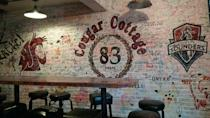 """<p>School spirit is never in short supply at the Cougar Cottage, better known as <a href=""""https://go.redirectingat.com?id=74968X1596630&url=https%3A%2F%2Fwww.tripadvisor.com%2FRestaurant_Review-g58692-d4647723-Reviews-Cougar_Cottage-Pullman_Washington.html&sref=https%3A%2F%2Fwww.bestproducts.com%2Ffun-things-to-do%2Fg2528%2Fbest-college-bars%2F"""" rel=""""nofollow noopener"""" target=""""_blank"""" data-ylk=""""slk:The Coug"""" class=""""link rapid-noclick-resp"""">The Coug</a><span class=""""redactor-invisible-space"""">. The b</span>urgers and steak fries are popular enough to keep students around regularly at dinnertime, but the party really gets started around 1 a.m.</p>"""
