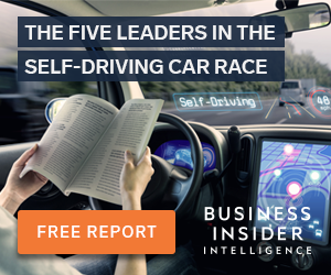 The Five Leaders in the Self-Driving Car Race: FREE Report