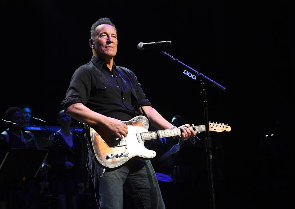 Bruce Springsteen, here onstage during The Rainforest Fund 30th Anniversary Benefit Concert Presents on Dec. 09, 2019, was arrested for DWI.