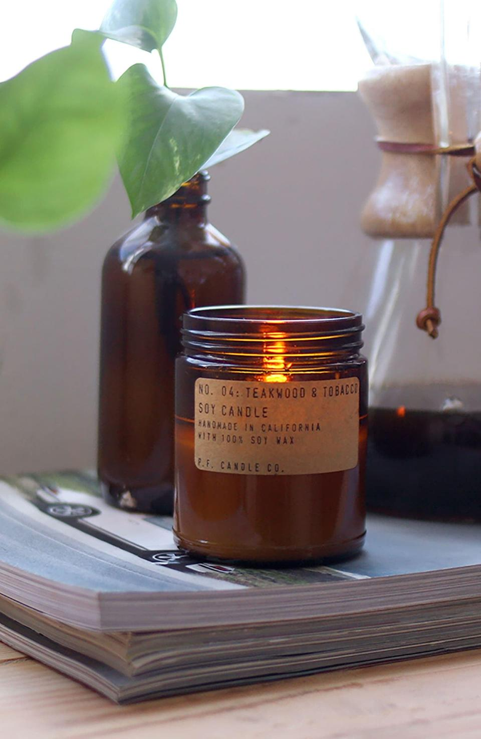 <p>This popular <span>P.F. Candle Co. Soy Candle</span> ($20) comes in so many amazing scents.</p>