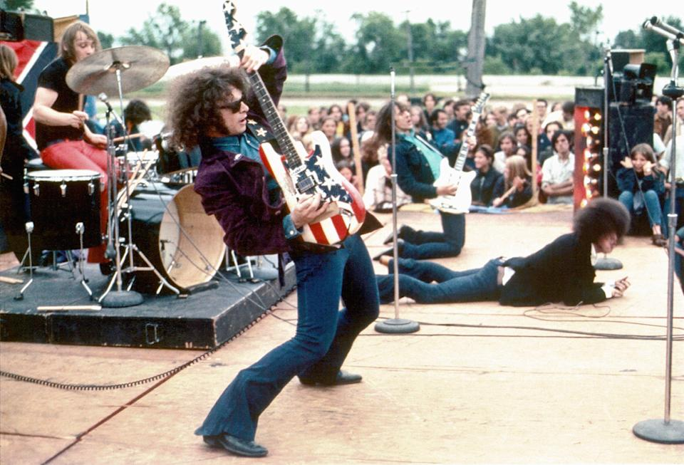 Wayne Kramer plays lead guitar with MC5 in 1969. (Photo: Leni Sinclair/Michael Ochs Archive/Getty Images)