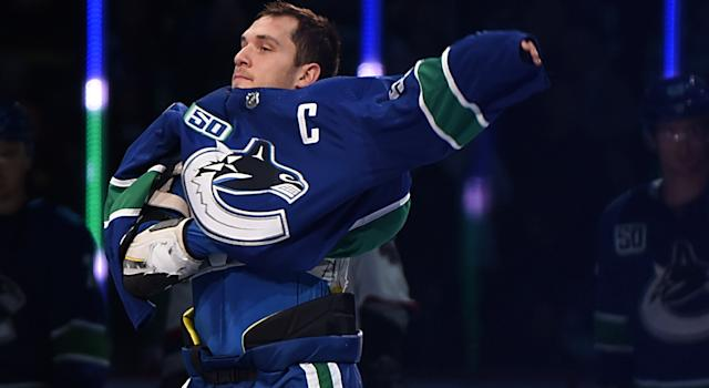 Bo Horvat is the new Vancouver Canucks captain and couldn't be happier to receive the honour. (Anne-Marie Sorvin-USA TODAY Sports)