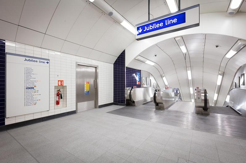 Two new escalators were unveiled as part of the upgrade: TfL