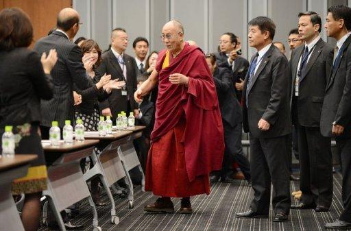 Beijing rebuked Japan for the warm welcome they have given the Dalai Lama