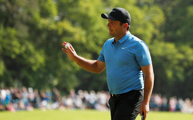 Golf - European Tour - BMW PGA Championship - Wentworth Club, Virginia Water, Britain - May 26, 2018 Italy's Francesco Molinari during the third round Action Images via Reuters/Paul Childs