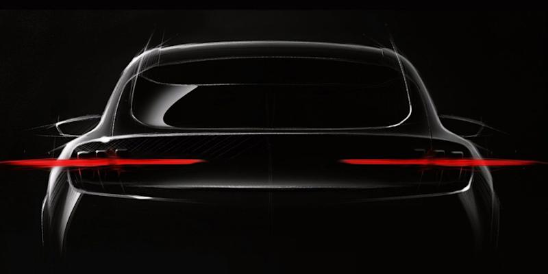 Ford teases Mustang-inspired electric crossover due in 2020