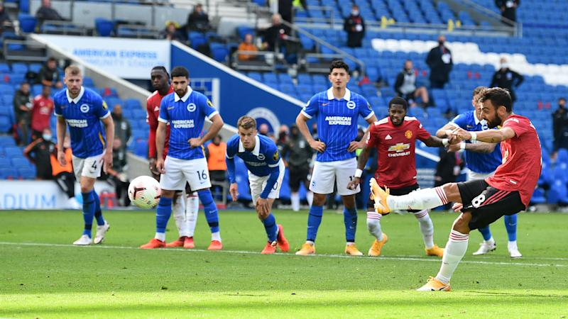 'The point is to score goals not hit the bar' – Man Utd star Fernandes rubs salt into Brighton's wounds after five-goal thriller
