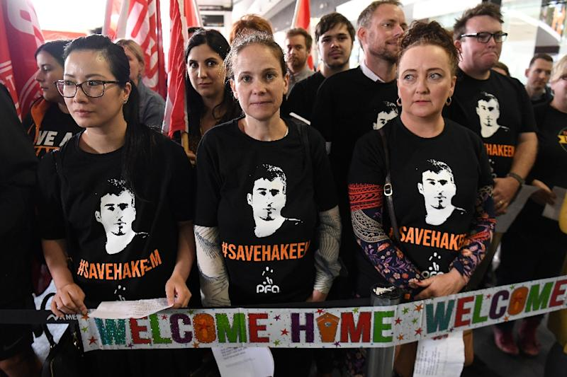 The footballer's detention sparked worldwide outcry and a protracted diplomatic dispute between Bahrain, Thailand and Australia (AFP Photo/William WEST)