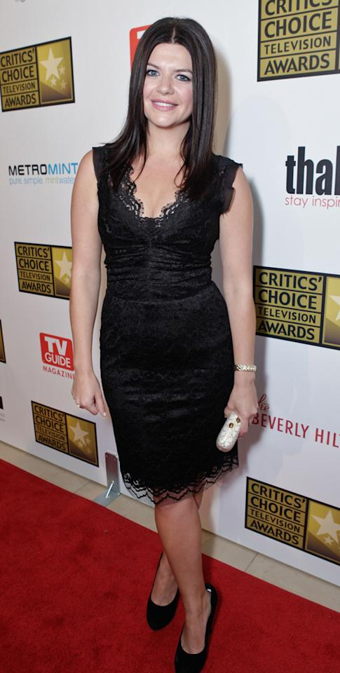 Casey Wilson attends the 2012 Critics' Choice Television Awards at The Beverly Hilton Hotel on June 18, 2012 in Beverly Hills, California.
