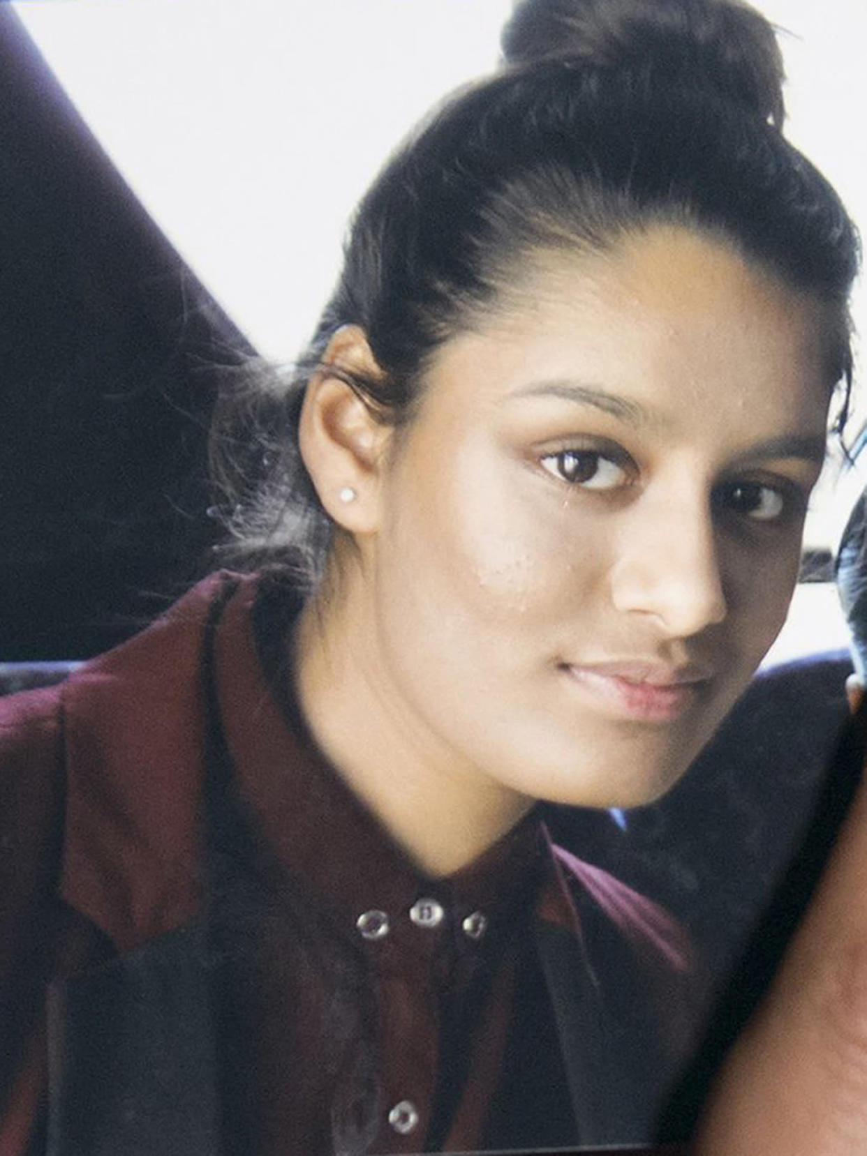 Undated file photo of Islamic State bride Shamima Begum who said she regrets speaking to the media and wishes she had found a different way to contact her family.