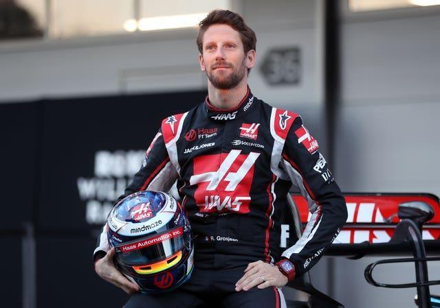 Romain Grosjean file photo