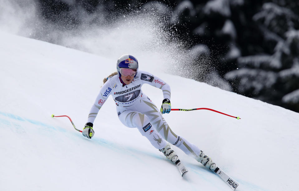 Lindsey Vonn is ready to compete in her first Olympics since 2010. (AP)