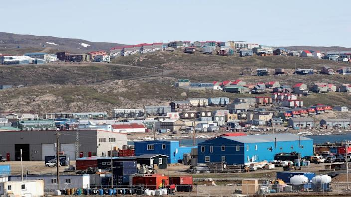 A general view of Sylvia Grinnel Territorial Park during a 3 day official visit to Canada on June 29, 2017 in Iqaluit, Canada.