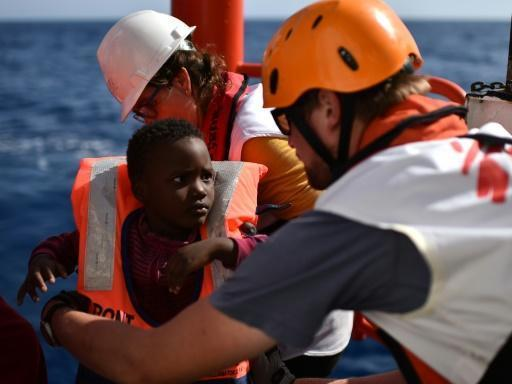 A day in the life of the Med's migrant lifesavers