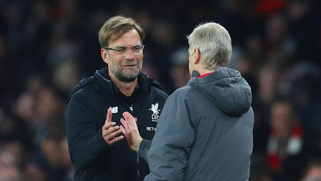 The Liverpool boss paid tribute to the exiting Arsenal manager, saying the Frenchman was considered a role model in Germany