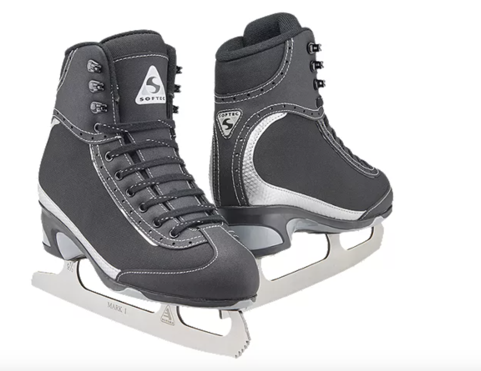 Softec Vista Women's Figure Skates. Photo via Sport Chek.