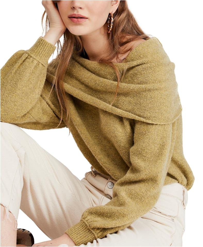 """<p>This comfy <a href=""""https://www.popsugar.com/buy/Free-People-Echo-Beach-Pullover-Sweater-493381?p_name=Free%20People%20Echo%20Beach%20Pullover%20Sweater&retailer=macys.com&pid=493381&price=128&evar1=fab%3Aus&evar9=46666450&evar98=https%3A%2F%2Fwww.popsugar.com%2Fphoto-gallery%2F46666450%2Fimage%2F46666814%2FFree-People-Echo-Beach-Pullover-Sweater&list1=shopping%2Cfall%20fashion%2Csweaters%2Cfall%2Cmacys&prop13=api&pdata=1"""" rel=""""nofollow"""" data-shoppable-link=""""1"""" target=""""_blank"""" class=""""ga-track"""" data-ga-category=""""Related"""" data-ga-label=""""https://www.macys.com/shop/product/free-people-echo-beach-pullover-sweater?ID=9367683&amp;CategoryID=260#fn=sp%3D1%26spc%3D2033%26ruleId%3D105%7CBOOST%20ATTRIBUTE%7CBOOST%20SAVED%20SET%26searchPass%3DmatchNone%26slotId%3D9"""" data-ga-action=""""In-Line Links"""">Free People Echo Beach Pullover Sweater</a> ($128) comes in so many colors.</p>"""