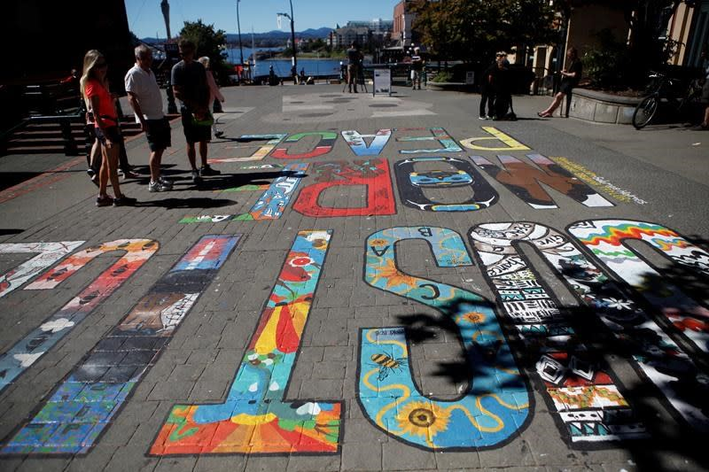Victoria mural sponsor says anti-police acronym inappropriate, but fuels debate