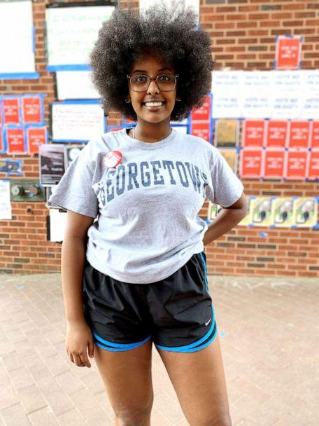 PHOTO: Hannah Michael is a Georgetown sophomore from Houston, Texas, studying African-American Studies.  (Christen Hill/ABC News)