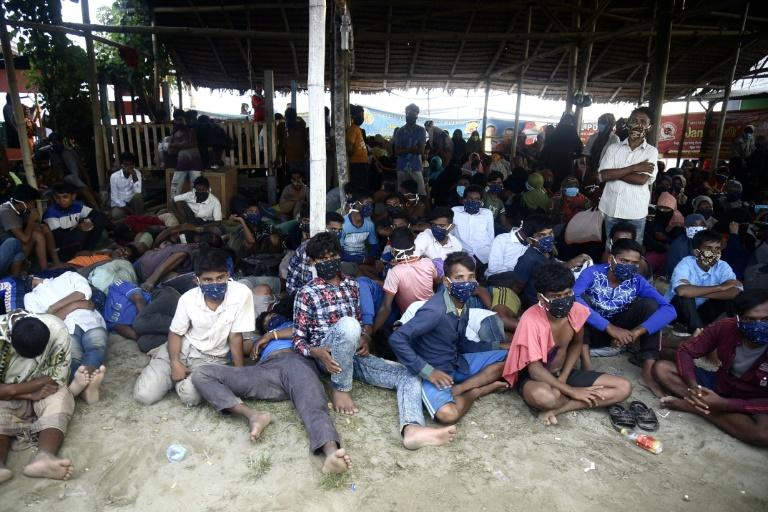 Nearly 300 Rohingya reach Indonesia 'after seven months at sea'