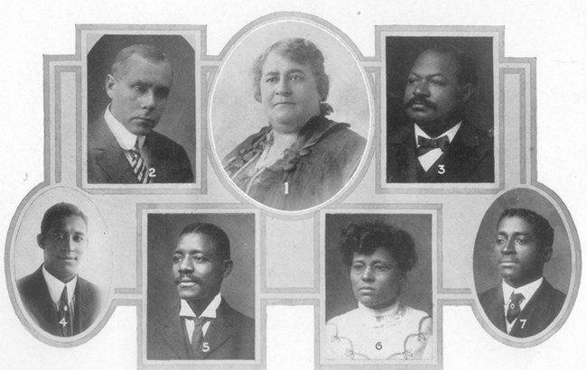 St. Luke Bank officers — Maggie L Walker National Historic Site