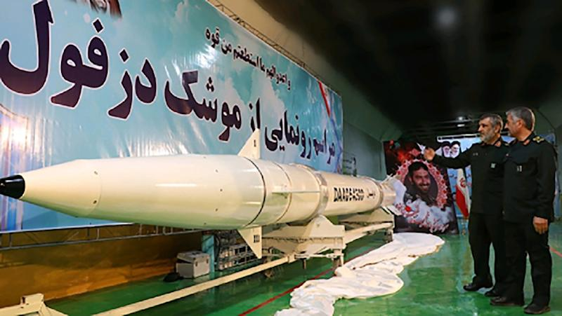 Iran Reveals Missile, Shows off Underground Factory