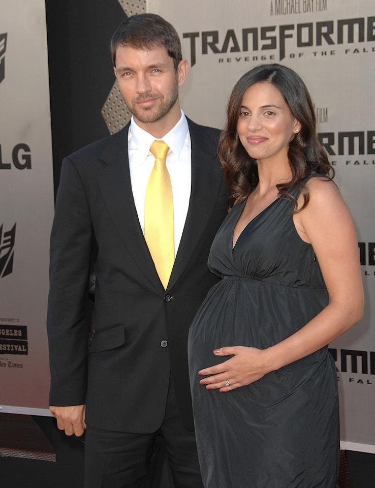 """<a href=""""http://movies.yahoo.com/movie/contributor/1804659612"""">Matthew Marsden</a> and guest at the Los Angeles premiere of <a href=""""http://movies.yahoo.com/movie/1809943432/info"""">Transformers: Revenge of the Fallen</a> - 06/22/2009"""