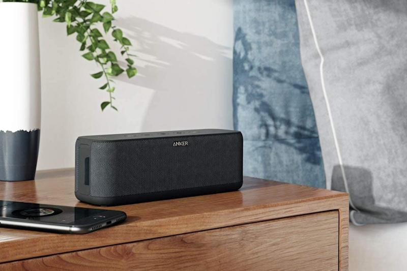 The Anker Soundcore Boost Portable Speaker is on sale for $45, today only. (Photo: Amazon)