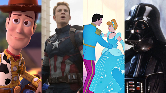 Disney+ for free — you won't believe what you get with this can't-miss offer! (Photo: Pixar Animation Studios/Marvel Studios/Walt Disney Animation Studios/Lucasfilm/Yahoo Life)