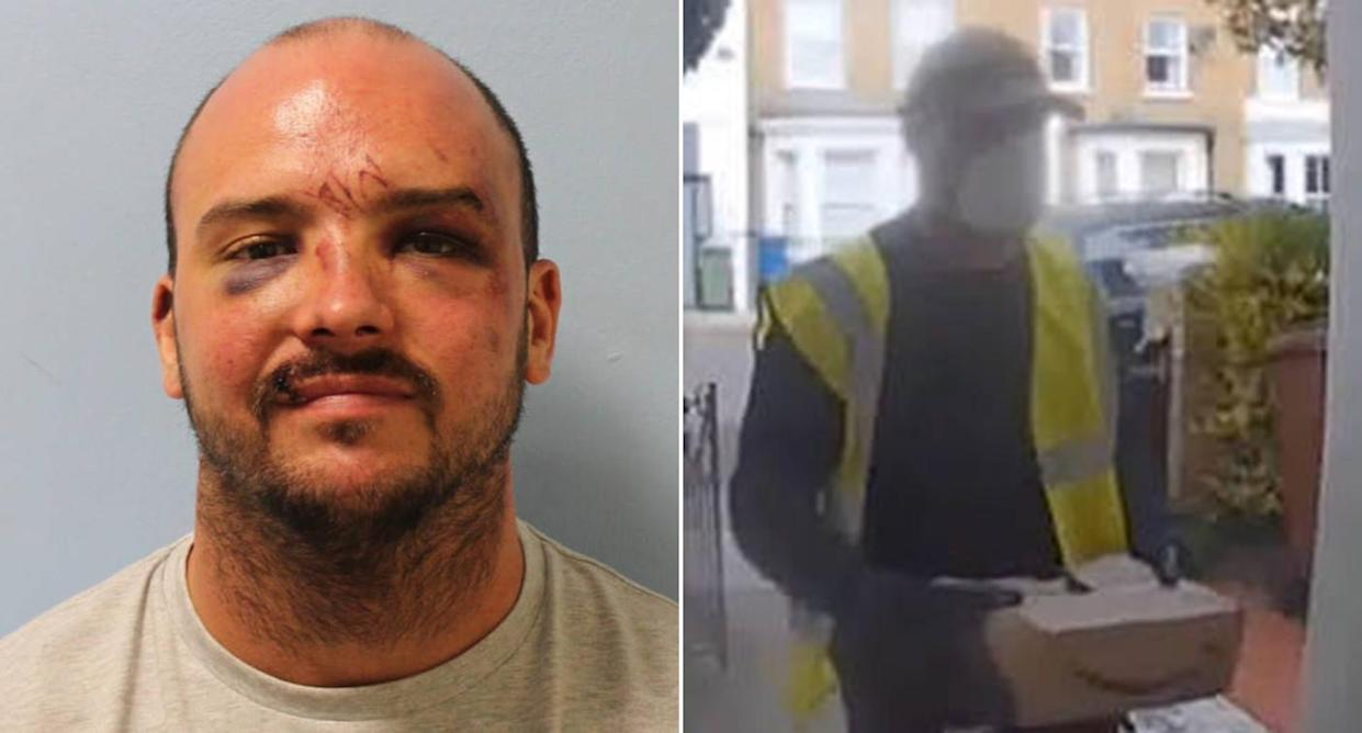 Vicente Forde pretended to be an Amazon delivery driver then pulled a shotgun on a homeowner. (Metropolitan Police)